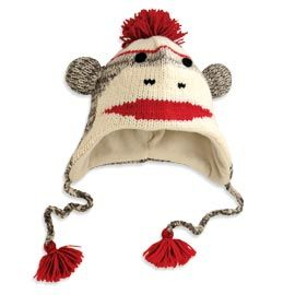 1e85808ac592b Cute Monkey Hat You ll have fun staying warm with this wool hat ...