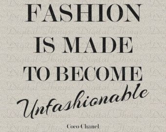 Fashion Quotes Chanel Quotes Fashion Quotes Typography Coco Chanel Quotes