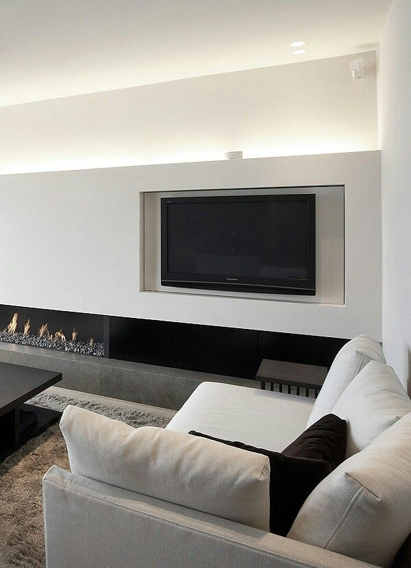 indirect lighting ideas tv wall. Sleek Apartment With Indirect Lighting In Duinbergen By Dennis T Jampens _offset Tv Ideas Wall H