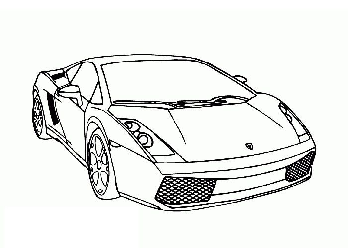 Lamborghini Gallardo Coloring Page Jpg Cars Coloring Pages Race