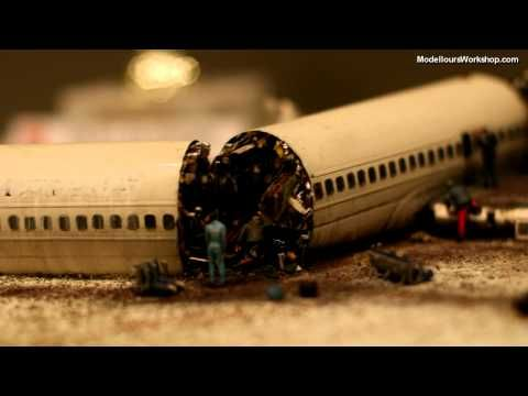 Modellours Workshop Scandinavian Airlines Flight 751 Diorama Of The Day Diorama Military Diorama Airline Flights
