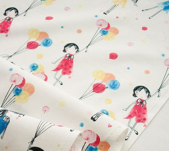 "20s Cotton 100% Fabric - Paris Travel with Balloon -100% Cotton/ Total Width & Length: 43""X 35"" (110cm X 90cm)  -It is soft & suitable for clothing, pajama, bed cover, bag, and other stuff.   It will be shipped from South Korea. International delivery takes about 2 weeks to most countries after shipment (there is no shipping on the weekend or holidays). - Tracking service or expedited shipping is available upon request at extra cost. - Please send us a inquiry if you have any questions. :-)…"