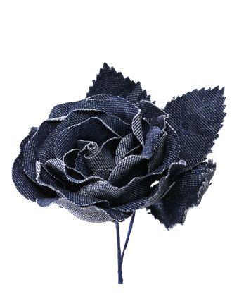DENIM ROSE /blue