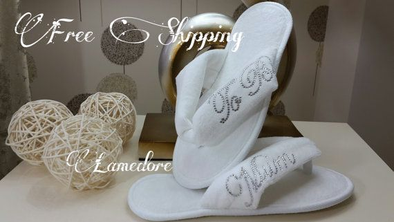 FREE SHIPPING  Mum to be flipflops Baby shower Velour by LAMEDORE