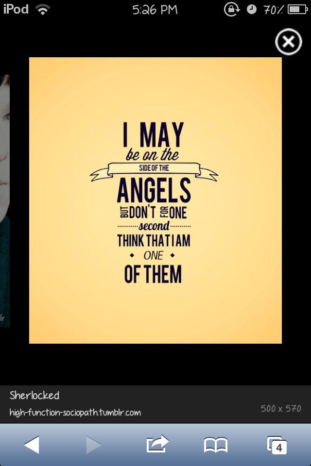I ain't an angel