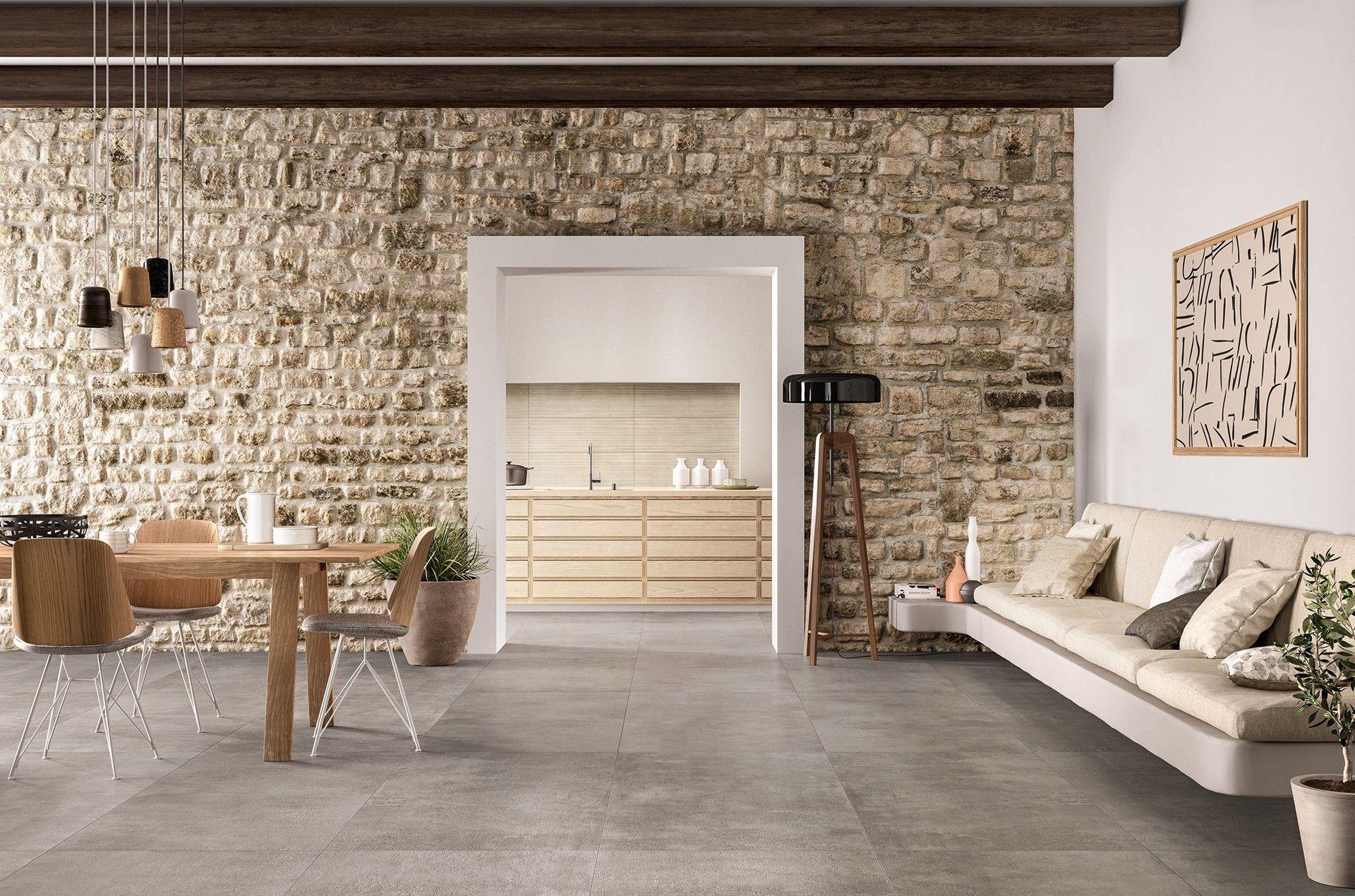 Marazzi Memento Casa Ceramica Living Room Tiles Appartment Decor Modern Houses Interior #stone #wall #tiles #for #living #room