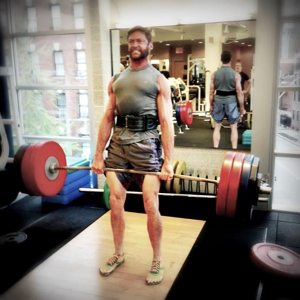 180kg deadlift | Inspiration Board | Hugh jackman, Weight lifting