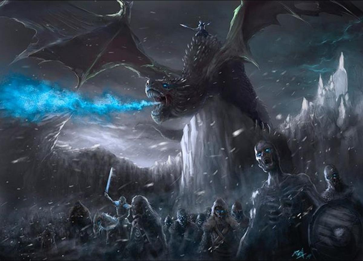 Dragon Zombie Fantasy Art
