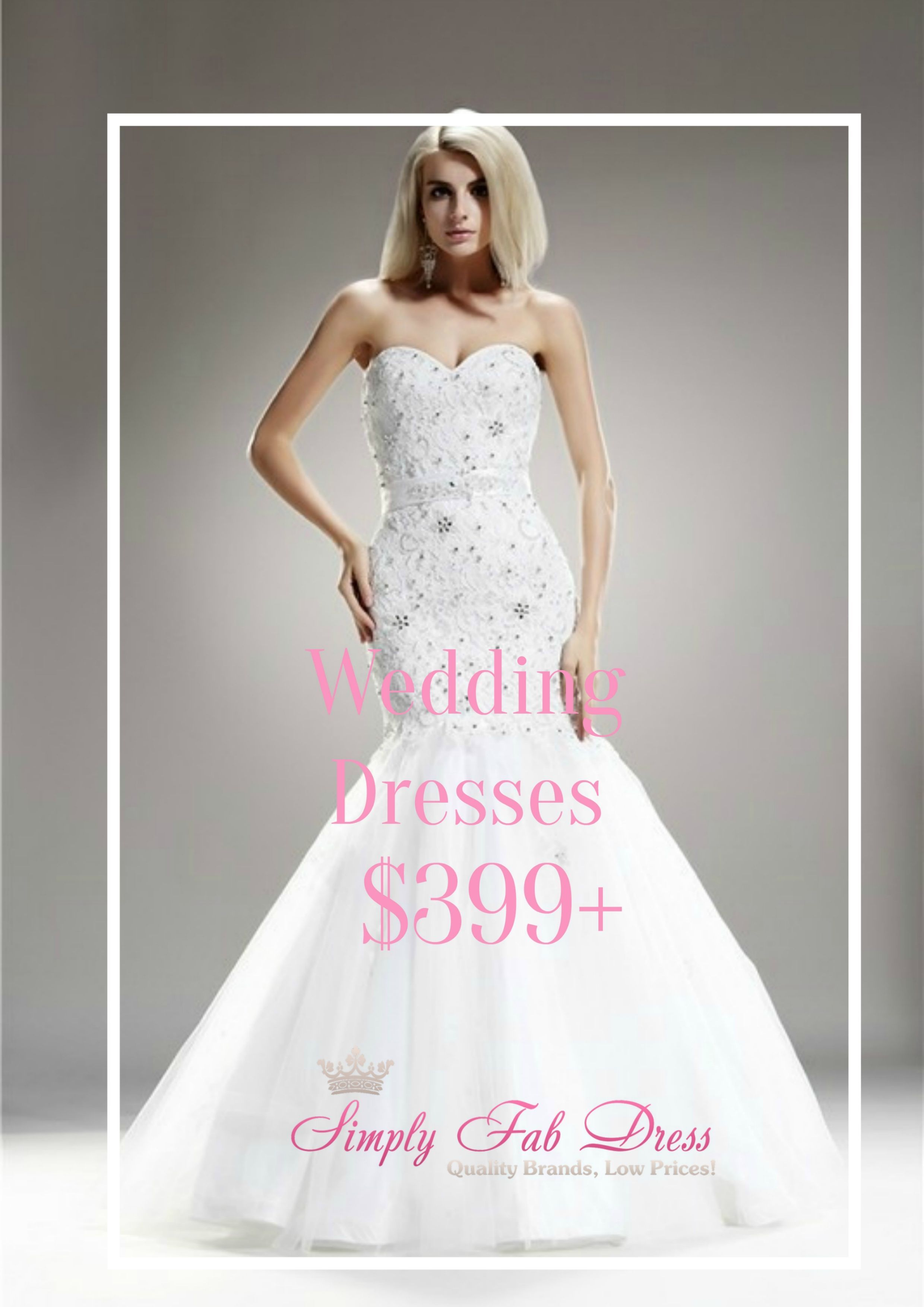 Buying your wedding dress does NOT have to break the bank. Simply ...