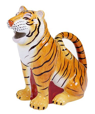 Loving this Imperial Bengal Tiger 2.25-Qt. Pitcher on #zulily! #zulilyfinds