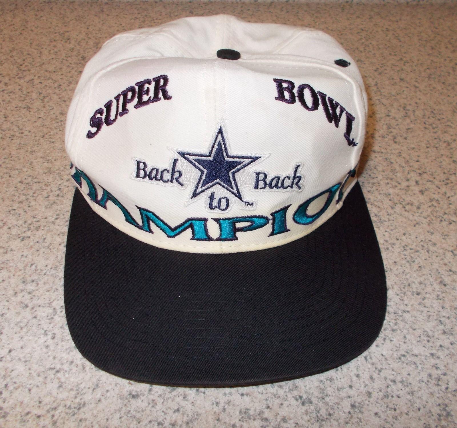 Dallas Cowboys Superbowl Champions LOGO 7 Snapback Hat Cap Rare Vtg 90s NFL 4fc88b4c3