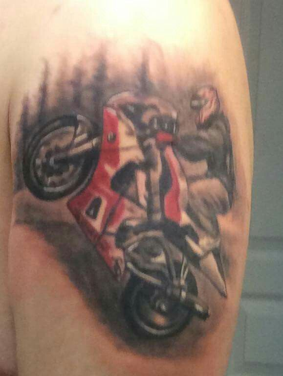 Sportbike tattoos