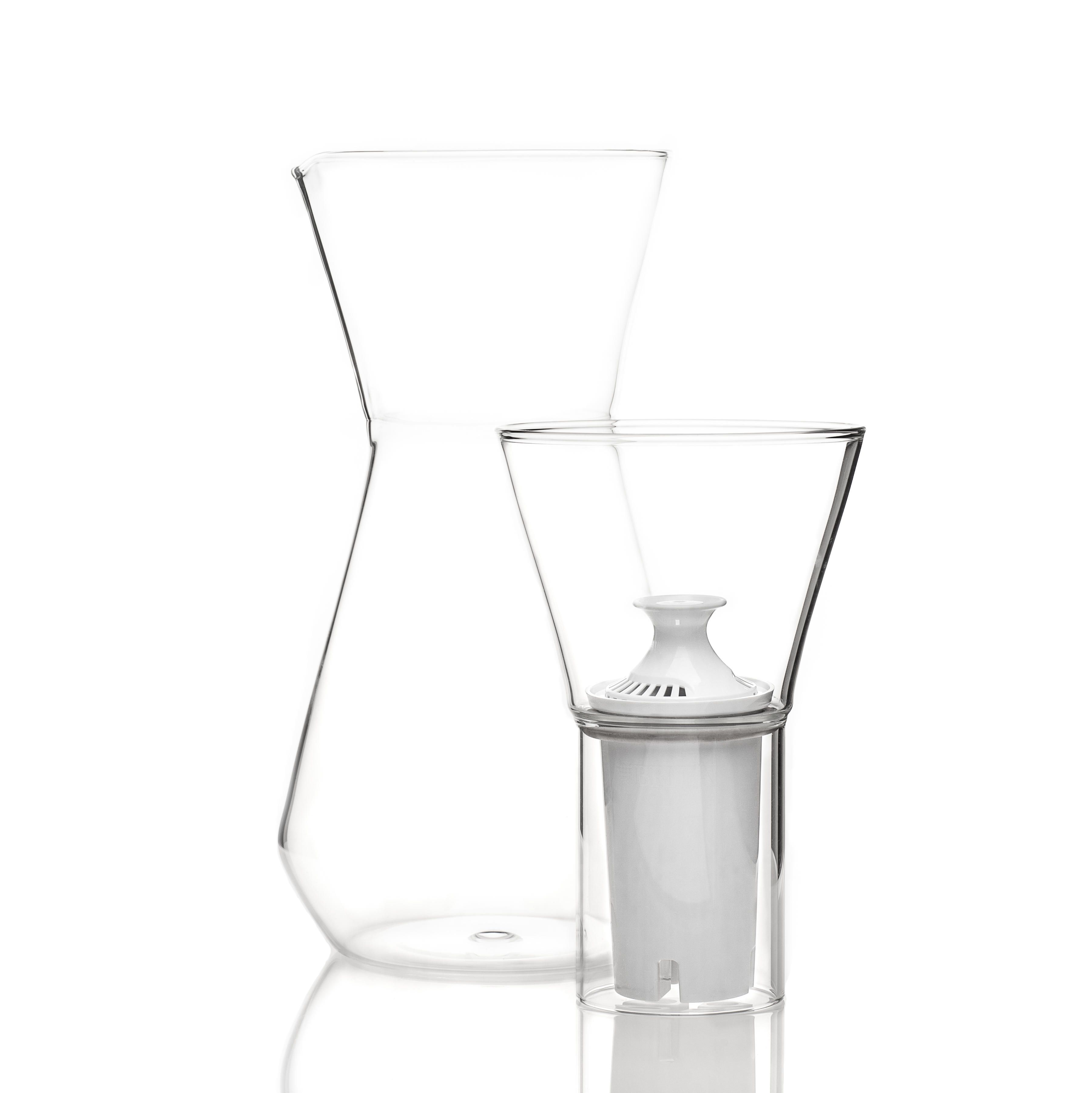 Glass Carafe With Water Filter Talise Glass Carafe Water