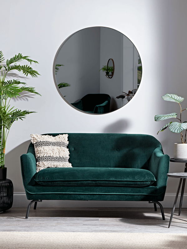 Forest Green Velvet Occasional Sofa Luxury Sofa Modern Green Sofa Luxury Home Furniture