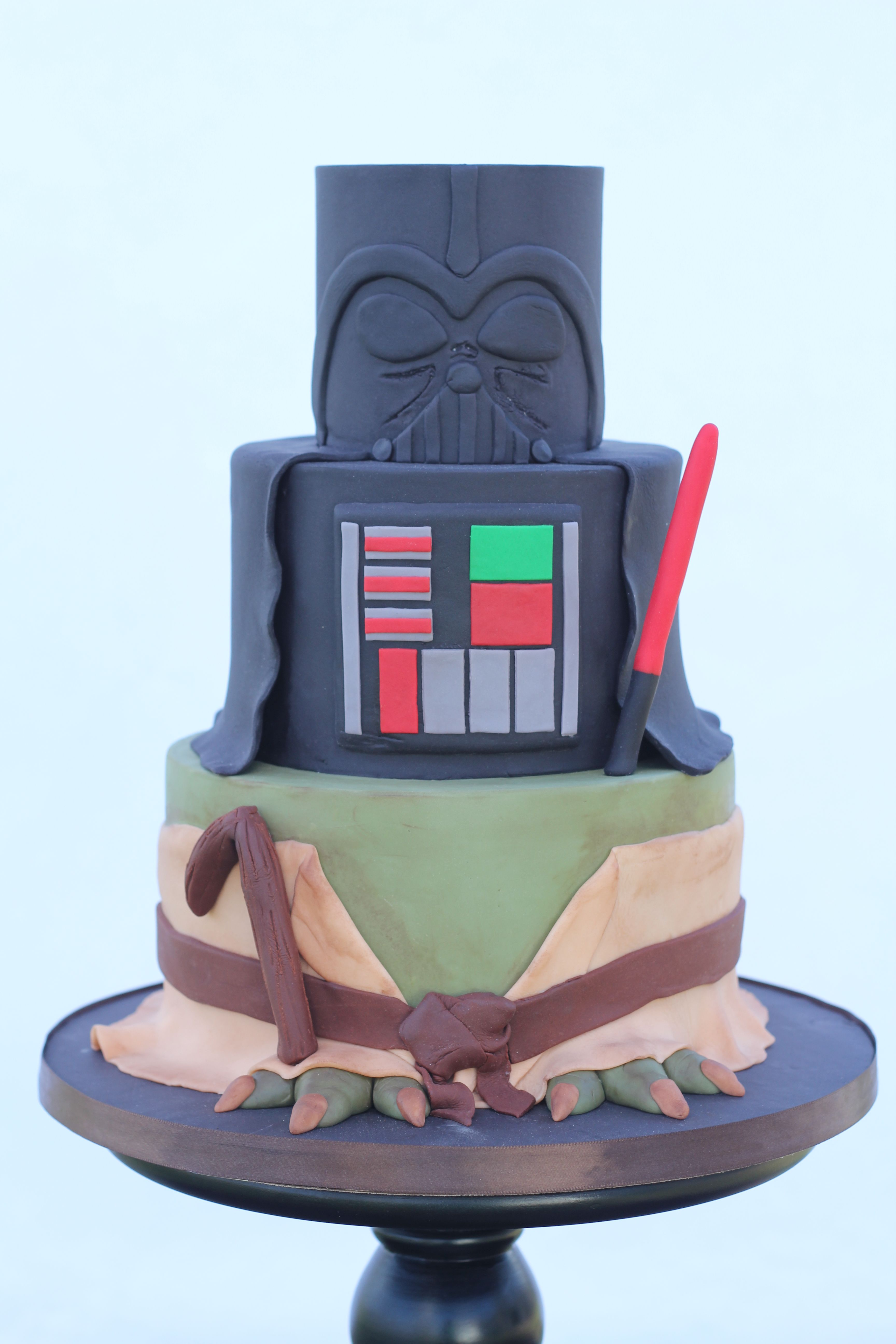 Pleasant Birthday Cakes Star Wars Birthday Cake Cake Cake Design Funny Birthday Cards Online Alyptdamsfinfo