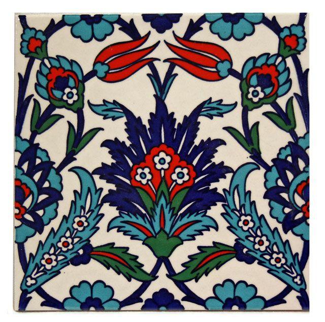 Turkish designed title at tokapi palace istanbul turkey - Mosaik fliesen turkis ...