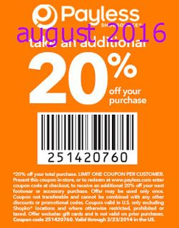 Printable Coupons: Payless Shoes Coupons