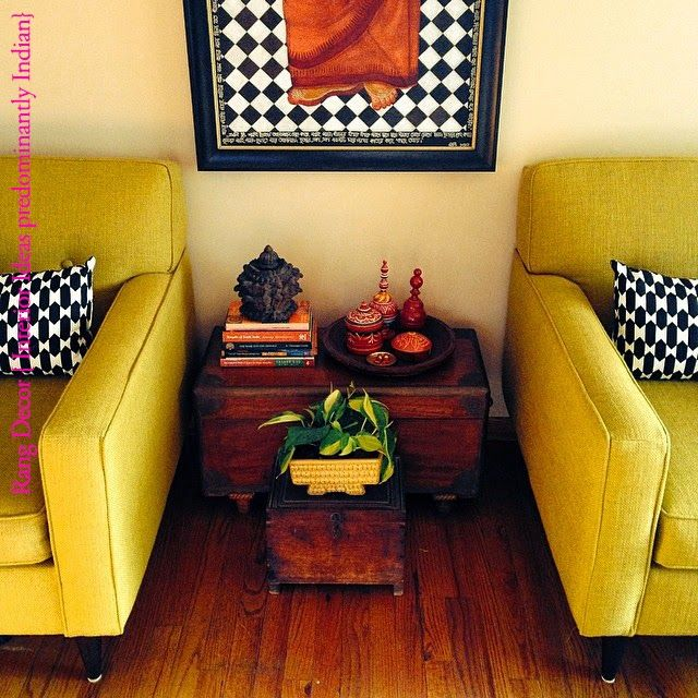 Captivating Rang Decor {Interior Ideas Predominantly Indian}: MN Home Feature: Spring Is