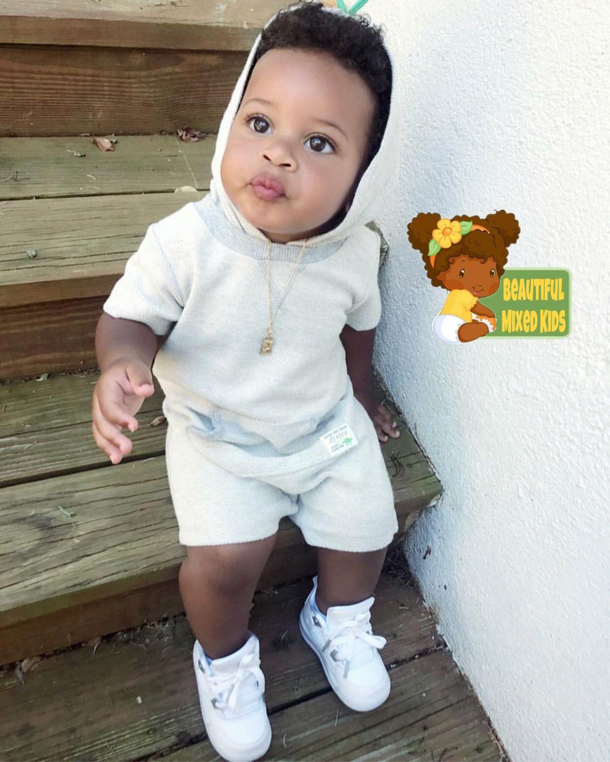 Alijah 1 Year • African American Portuguese Native American