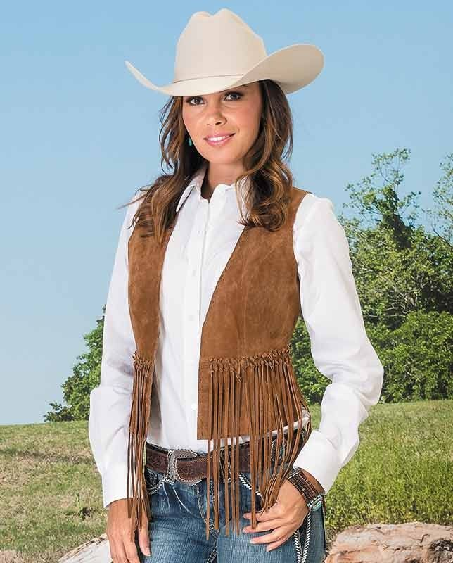 womens cowboy vests