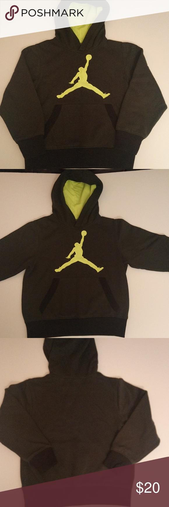 dc928bcc31bdf9 JORDAN Boy s Sweatshirt Hoodie- Size M 10-12 JORDAN SWEATSHIRT HOODIE. Dark  olive