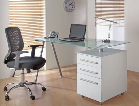 Glass Computer Desks Home Office Desks Office Furniture Glass