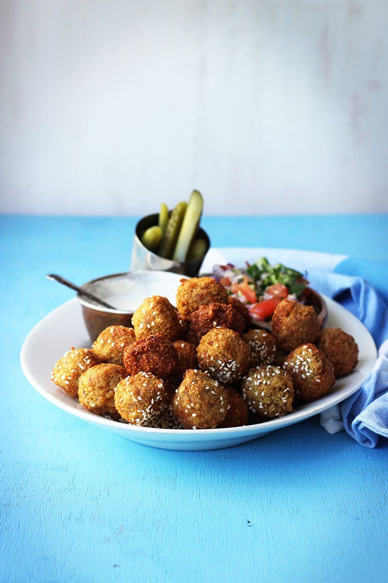Falafel pita street food monday recipe food yummy