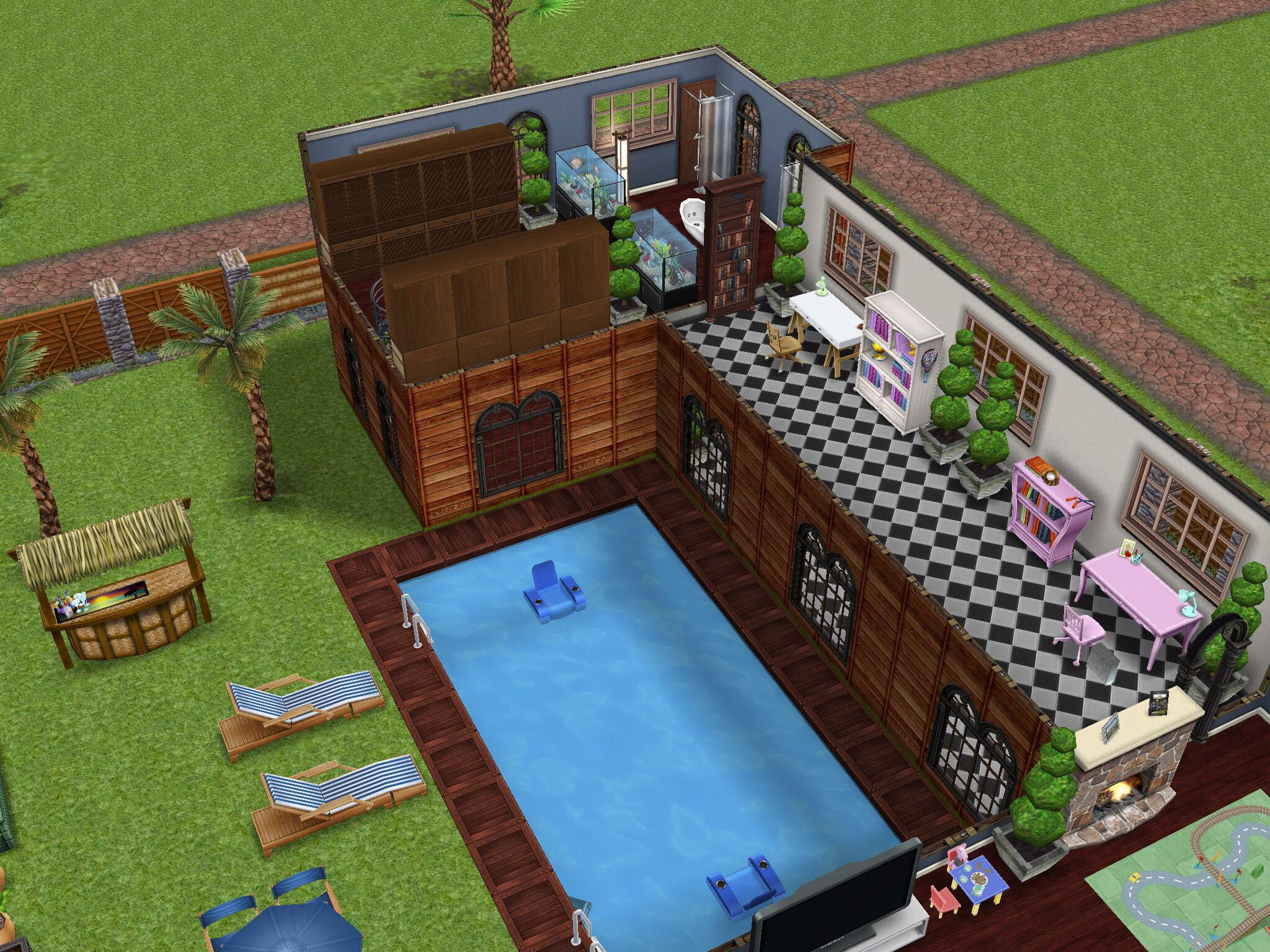 Home by the beach (Second Story: Part1) #thesims #simsfreeplay