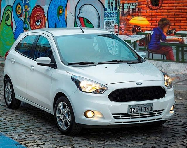 Ford Comemora 50 Mil Unidades Vendidas Do Novo Ka Ford Vender E