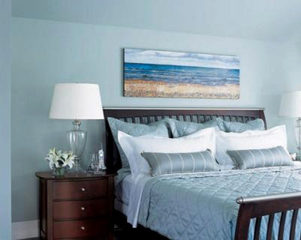 24 Beach Themed Bedroom Decor In 2020 Blue Room Decor Blue