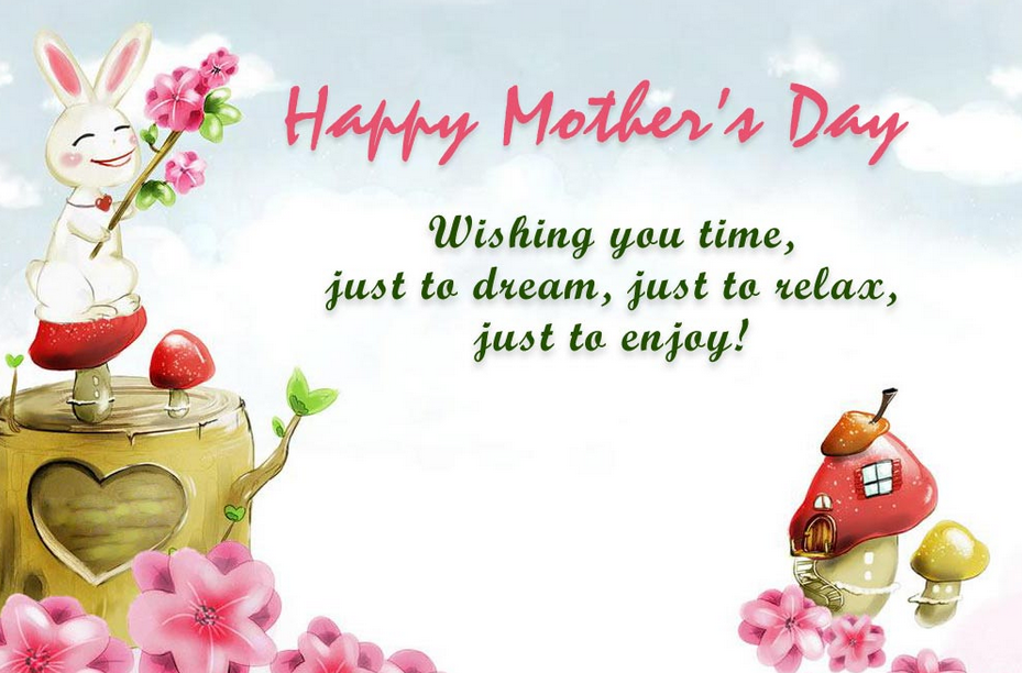 I love you Mom and I always will, no matter age or distance. Happy Mother's Day.
