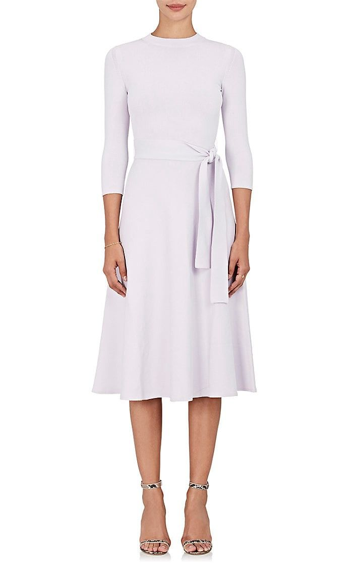 BROCK COLLECTION Belted Fit & Flare Dress. #brockcollection #cloth #