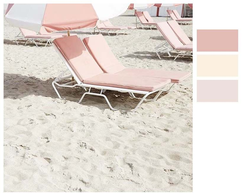 Color Scale sunny vintage