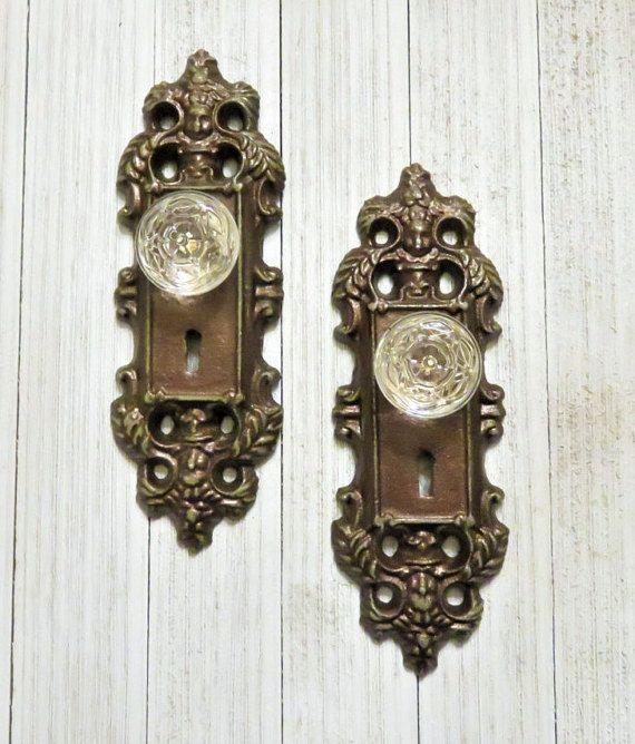 Antique Decorative Entry Door Plates 530585