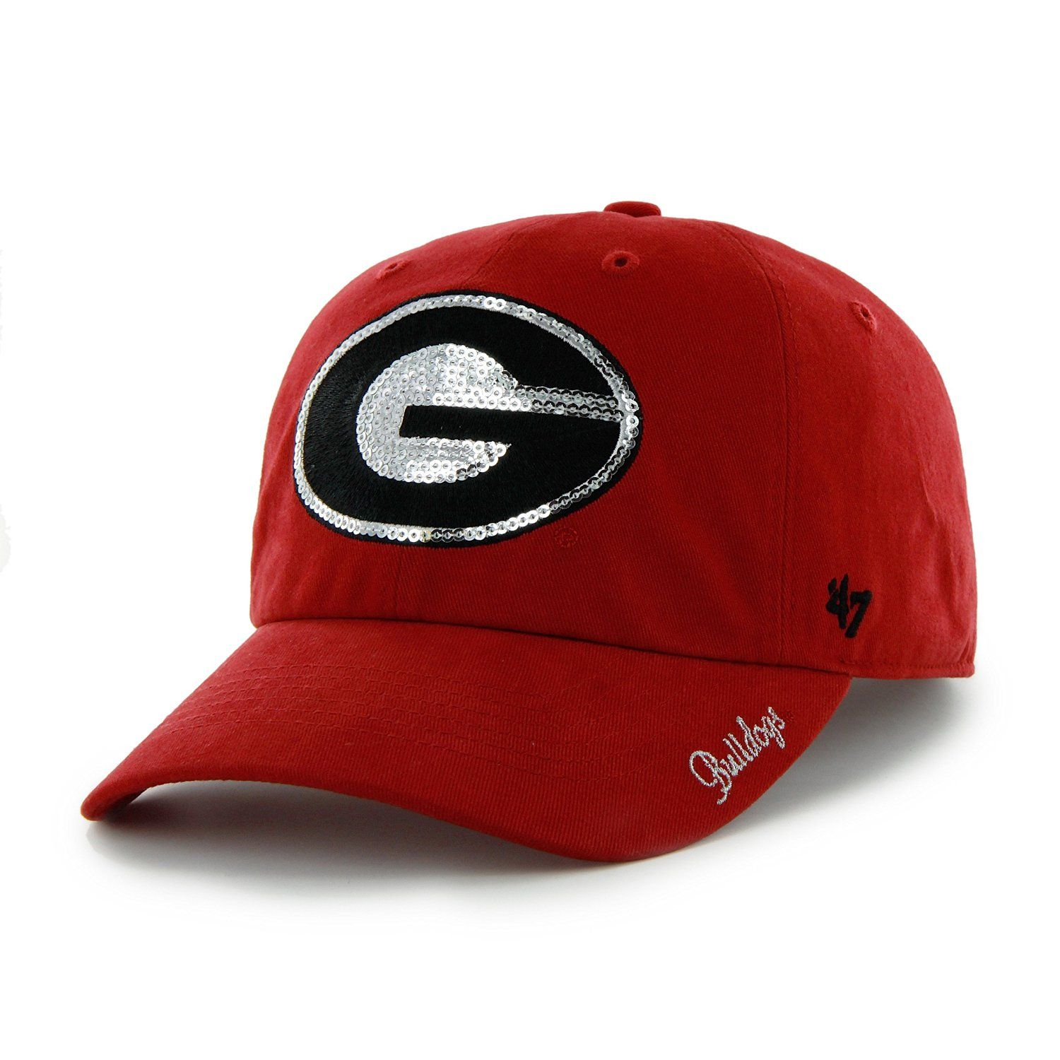 42c2b6ad027 Brand Women s Georgia Bulldogs Red Clean Up Sparkle Adjustable Hat - Dick s  Sporting Goods