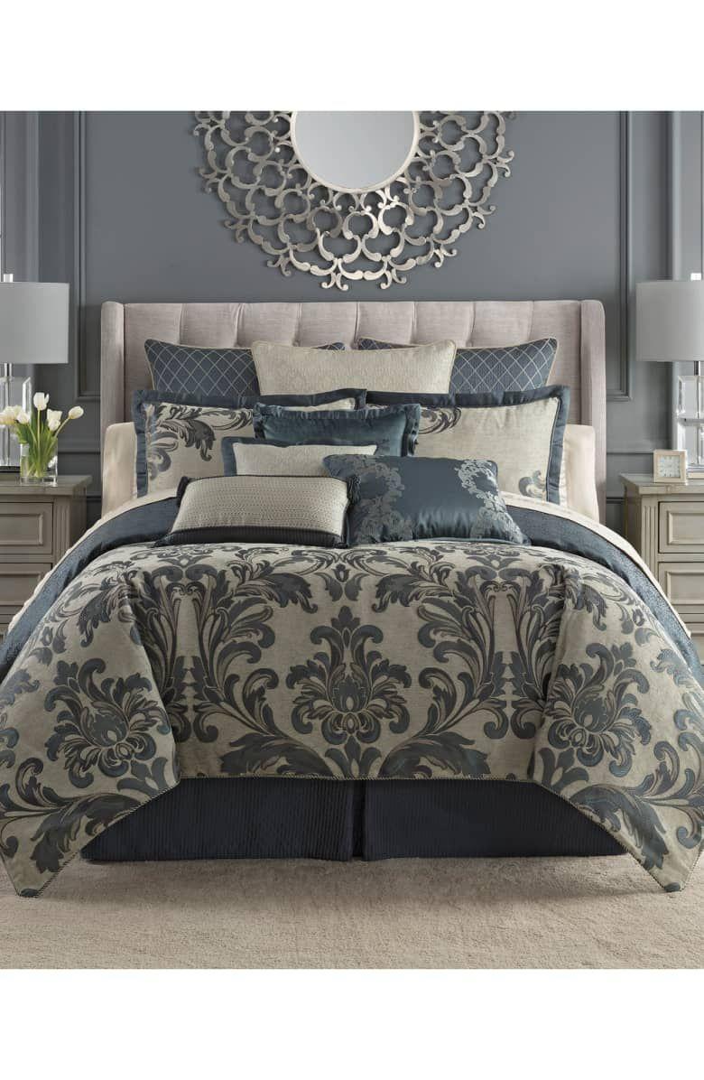 Waterford Everett Reversible Comforter, Sham & Bed Skirt