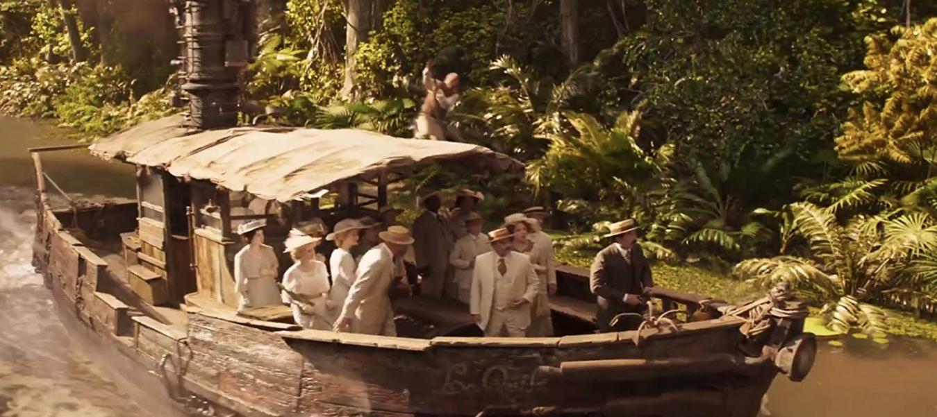 Jungle Cruise Pelicula Streamcloud Espanol Cruise Theme Parks Rides Movies
