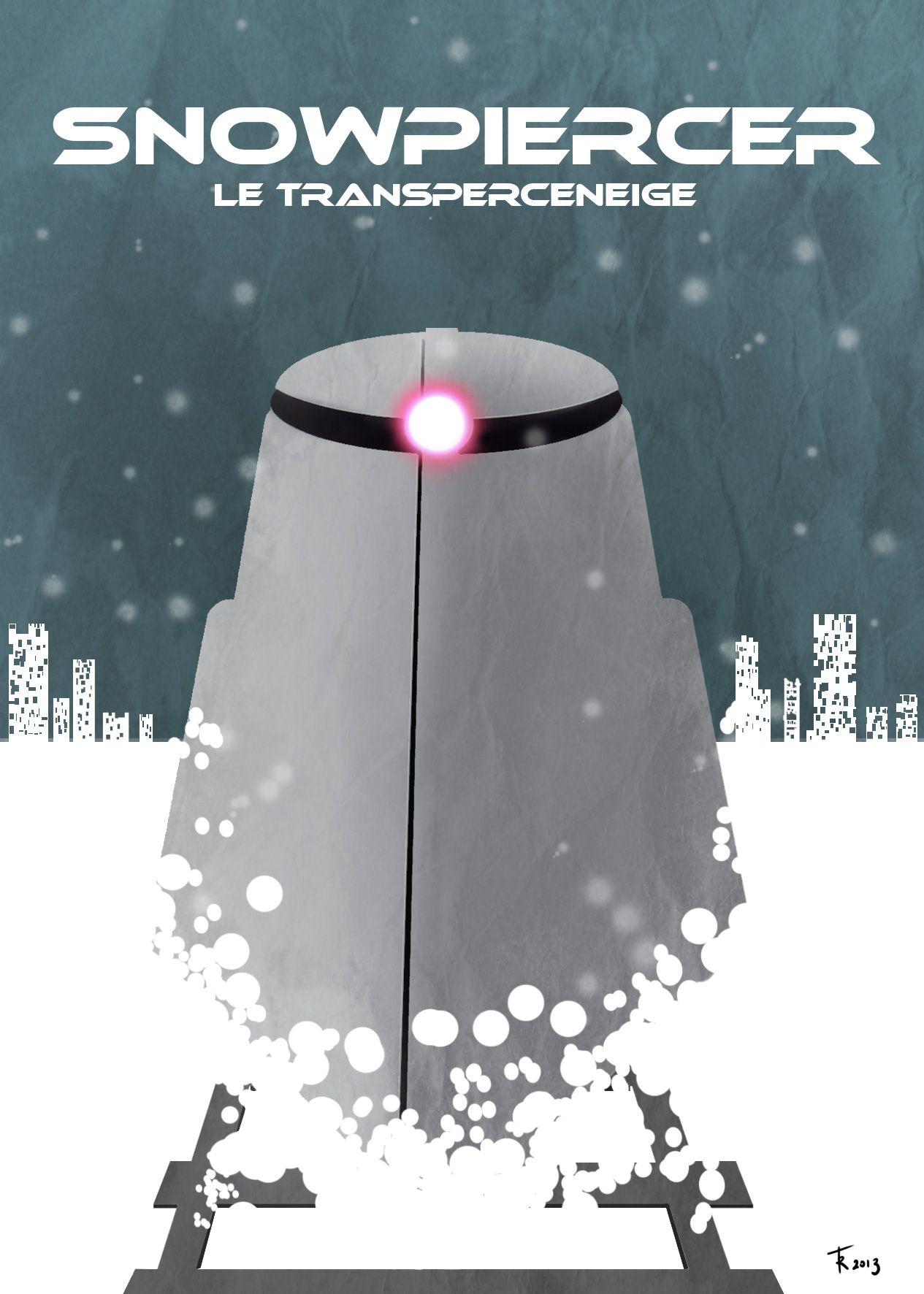 Snowpiercer poster fan art by rafgraphicart. http://www ...