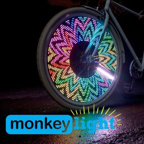Monkeylectric M232 Monkey Light Bike Wheel Bike Lights Bicycle