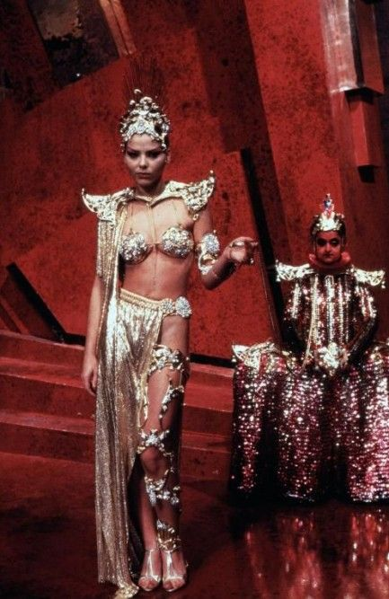 "Ornella Muti as Princess Aura, ""Flash Gordon"" (1980)"