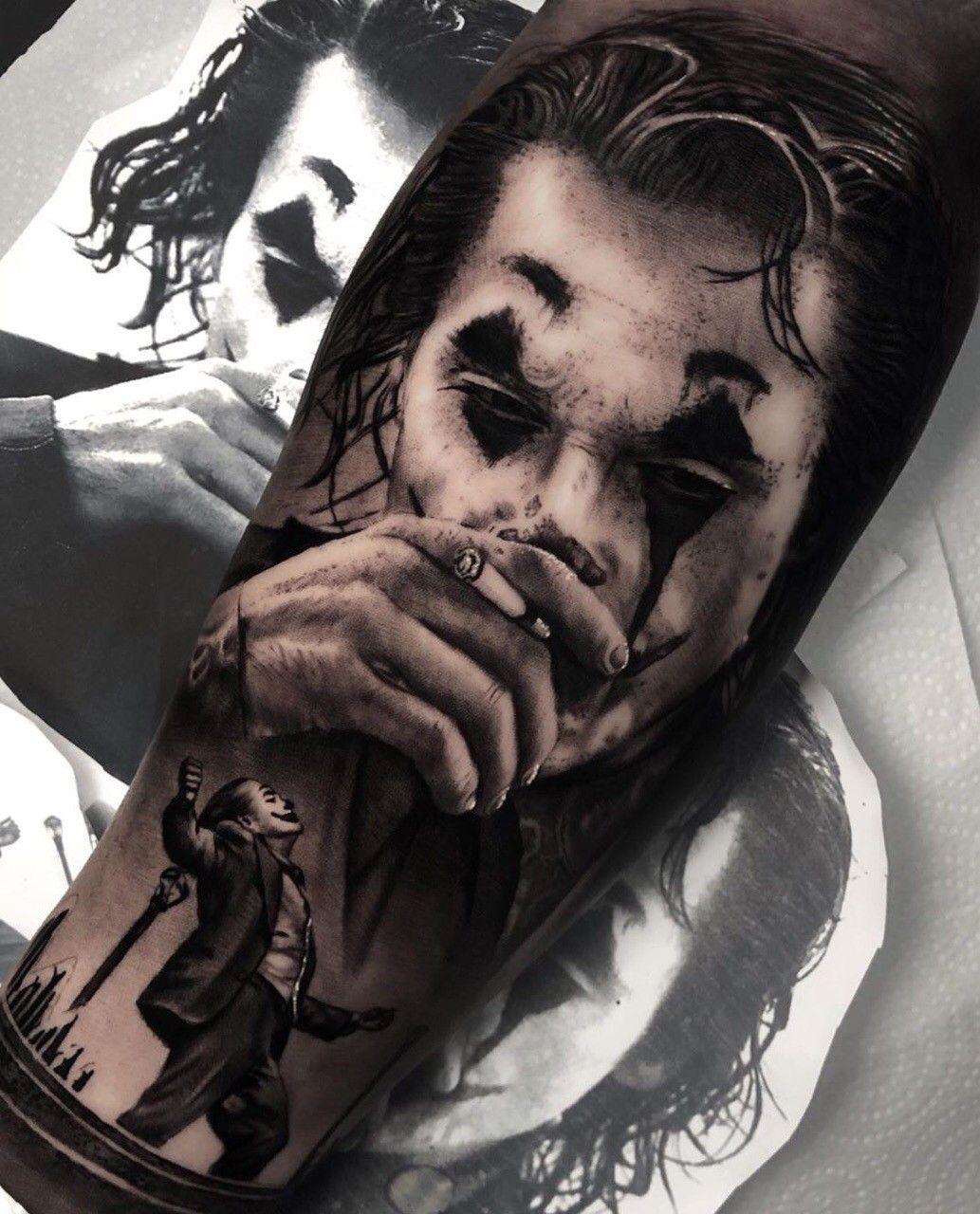 15 Beste Joker Tattoo Motive Und Bedeutung 4