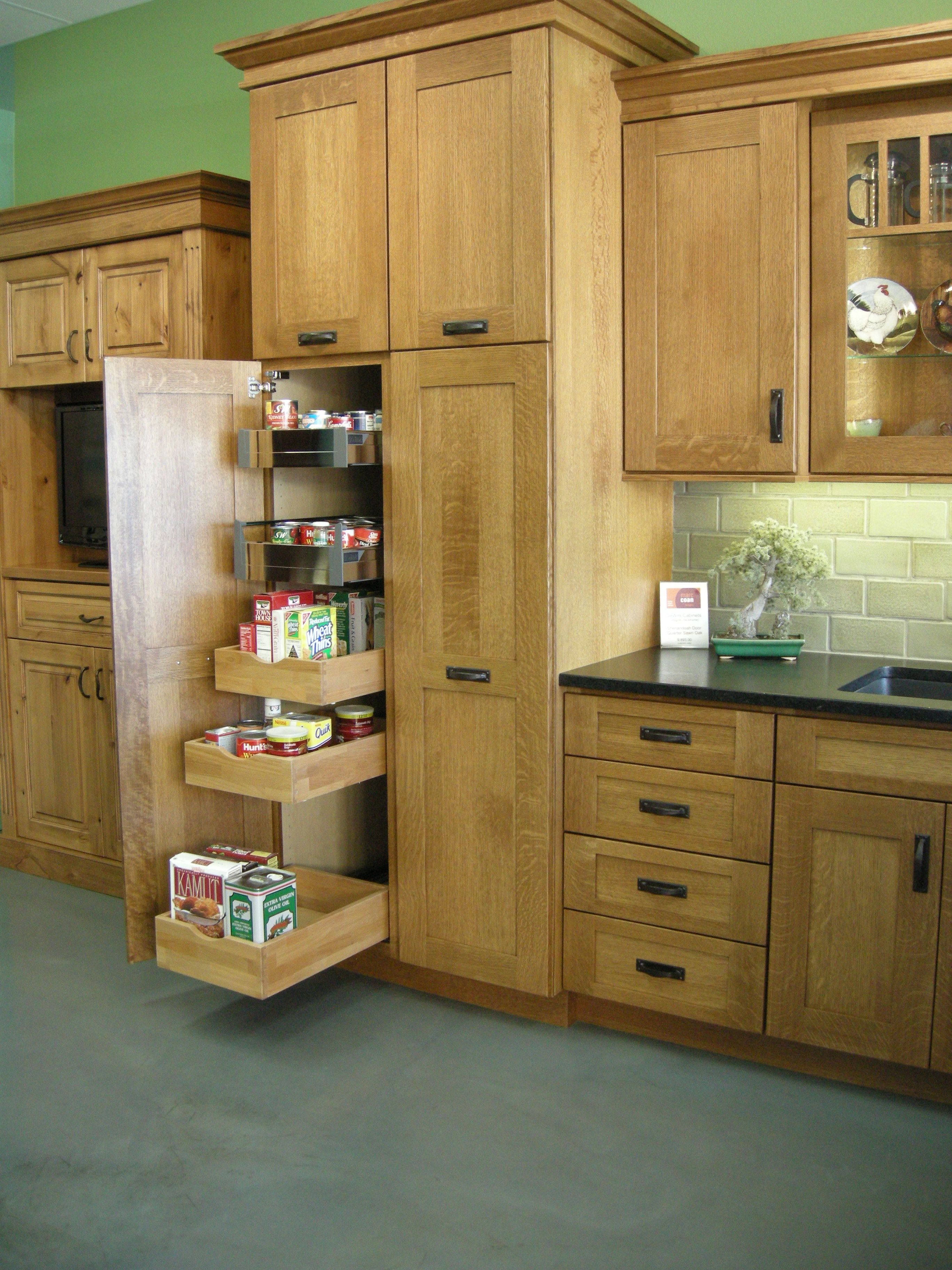 DeWils - Pantry Cabinet with rollout storage | Marc Coan Designs ...
