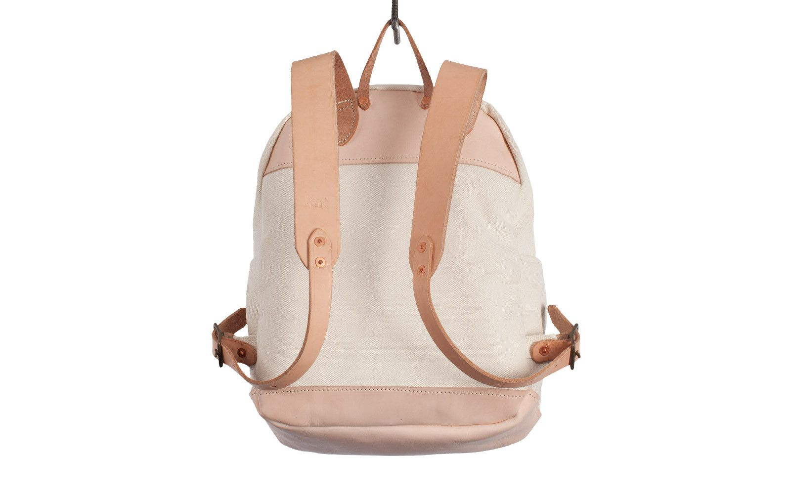 Zip Backpack in Natural