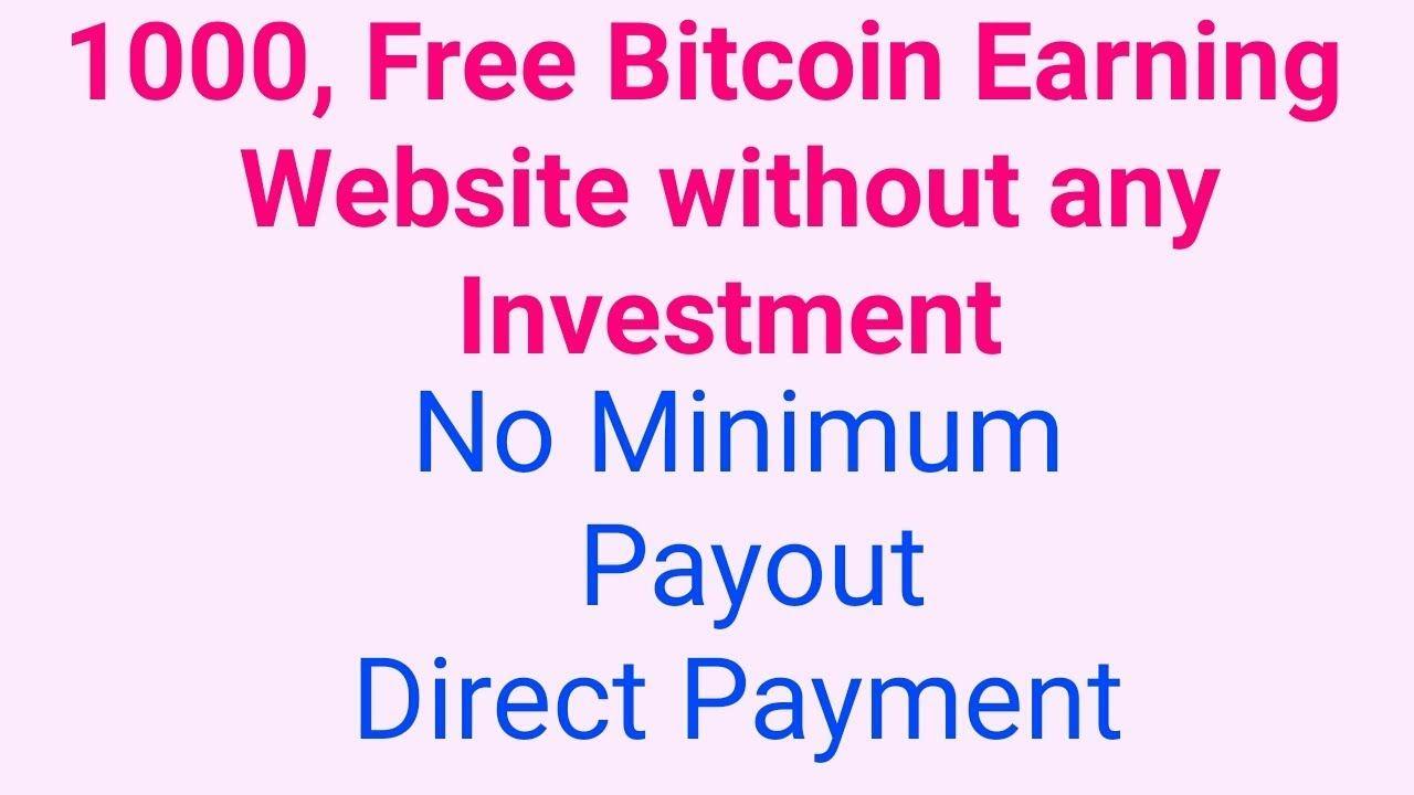 Free Bitcoin Earn No Minimum Payout | Faucet hub | Faucet hub wallet ...