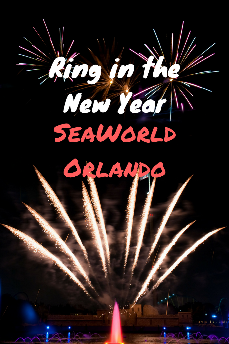 Seaworld Orlando Rings In The New Year For 2017 Seaworld Orlando Sea World Orlando Holiday