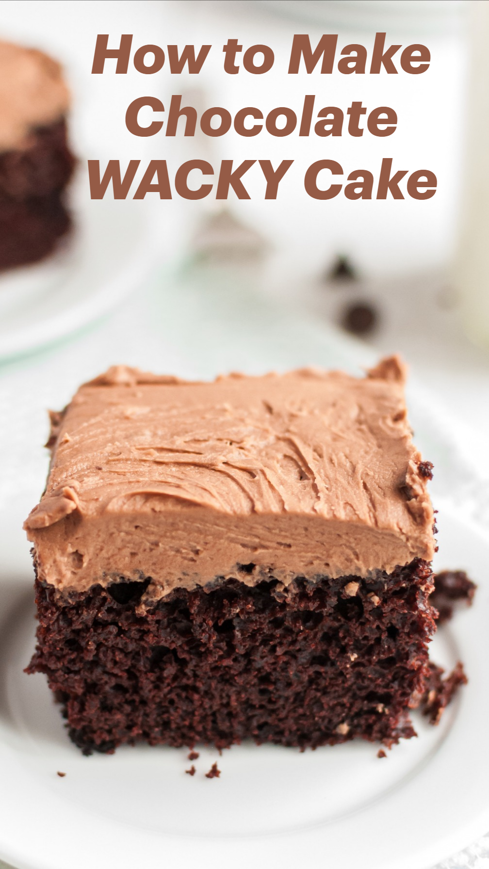 Photo of How to Make Chocolate WACKY Cake