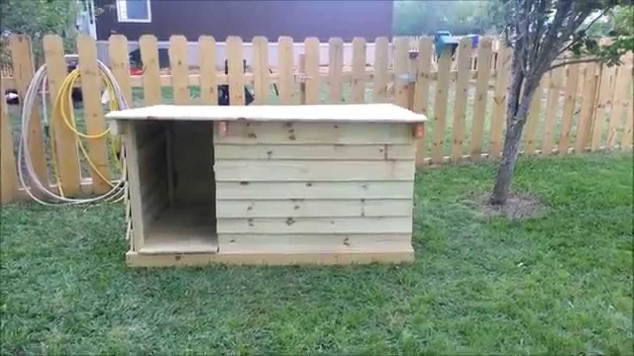 How To Build a Dog House Out of Fence Pickets