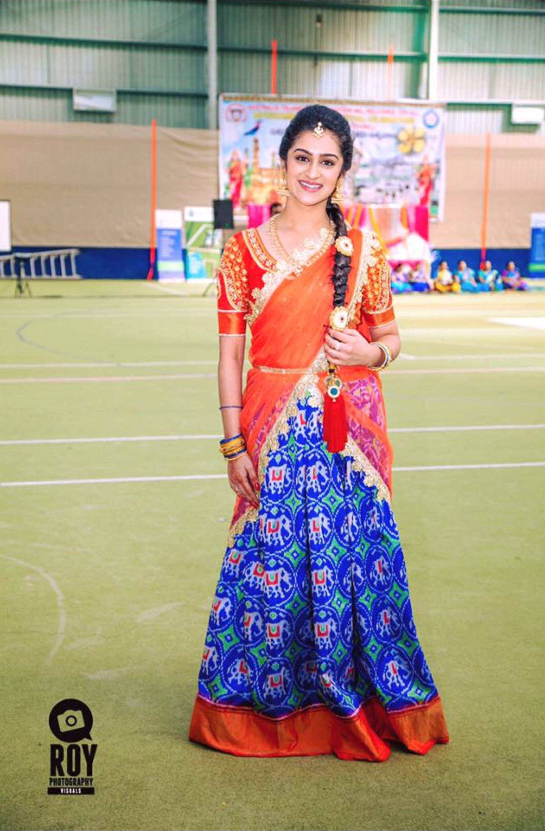 Half saree blouse design pin by prashanthi rayapati on indian wear  pinterest  half saree