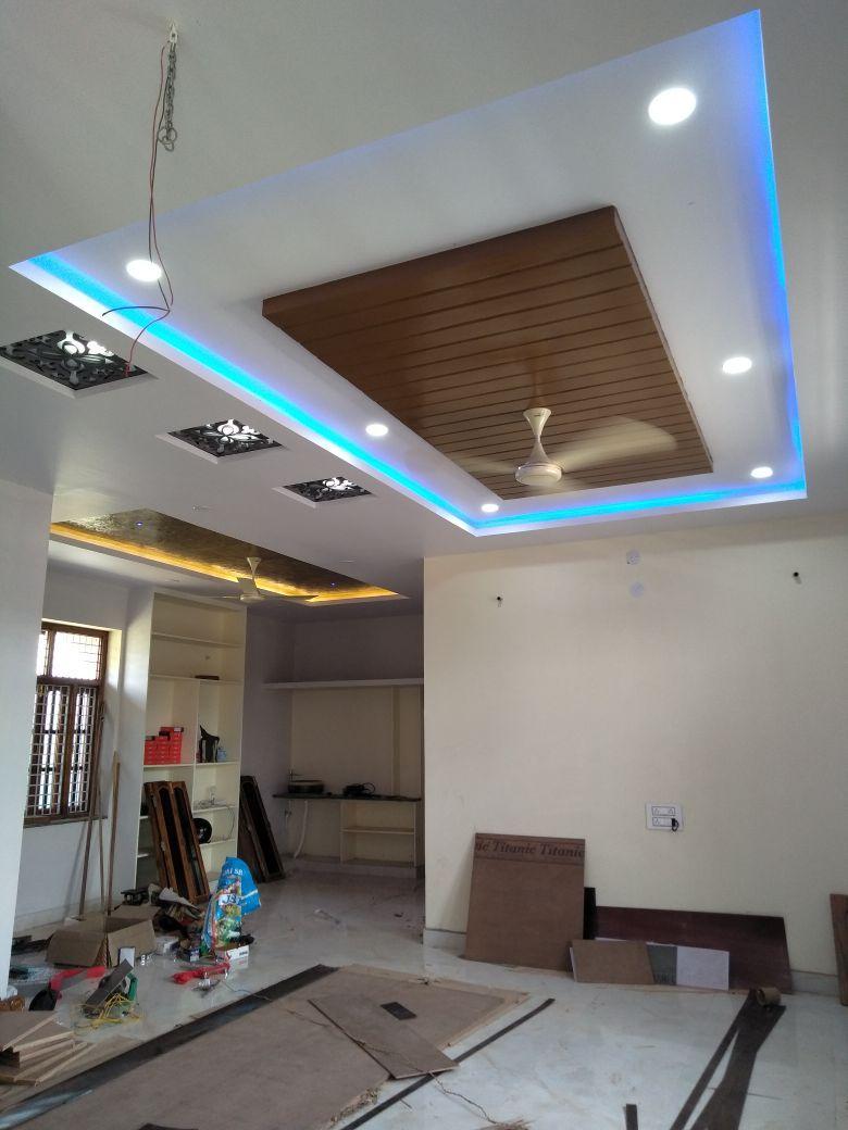 Pin By Tanu Arora On Rakshan Interior Works False Ceiling Design House Ceiling Design Pvc Ceiling Design