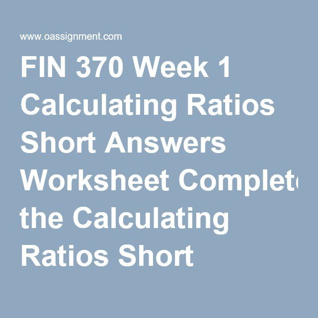 Colouring Worksheet For Preschool Excel Fin  Week  Calculating Ratios Short Answers Worksheet Complete  Solving Equations With Fractions Worksheet Excel with Constitution Worksheet Pdf Excel Fin  Week  Calculating Ratios Short Answers Worksheet Complete The  Calculating Ratios Short Answer Worksheet Greek Root Words Worksheet